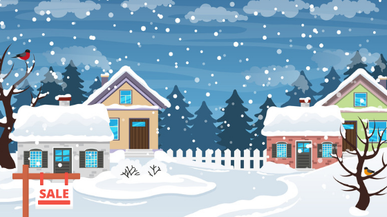 Three reasons why you should buy your next home this winter